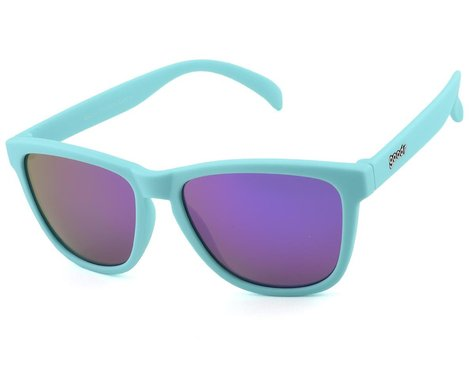 Goodr OG Sunglasses (Electric Dinotopia Carnival)