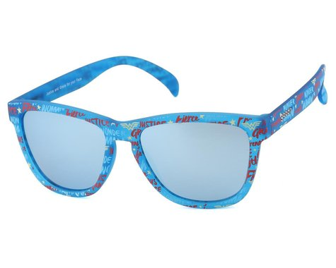 Goodr OG Wonder Woman Sunglasses (Justice And Grace For Your Face)