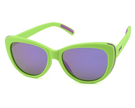 Goodr Runway Sunglasses (Total Lime Piece)
