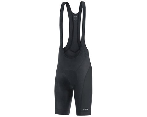 Gore Wear C3 Bib Shorts+  (Black) (S)