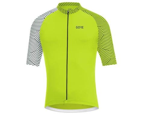 Gore Wear C5 Jersey (Citrus Green/White) (S)