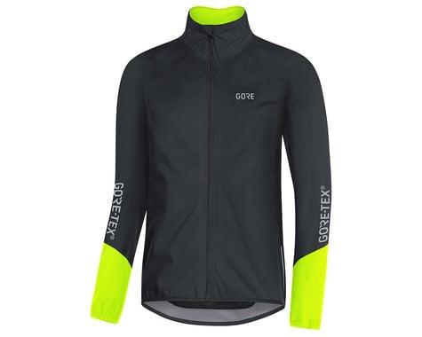 Gore Wear C5 Gore-Tex Active Jacket (Yellow/Black) (L)