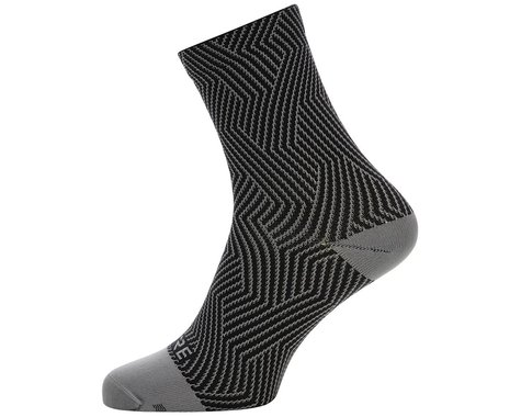 Gore Wear C3 Mid Socks (Graphite Grey/Black) (M)