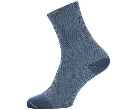 Gore Wear C3 Mid Socks (Deep Water Blue/Cloudy Blue)