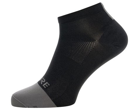 Gore Wear M Light Short Socks (Black/Graphite Grey) (S)