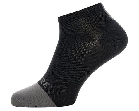 Gore Wear M Light Short Socks (Black/Graphite Grey) (XL)