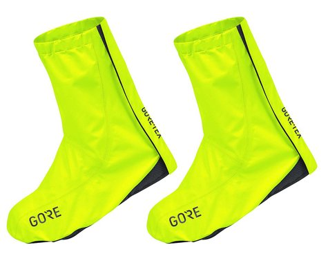 Gore Wear GTX Overshoes (Neon Yellow) (M)