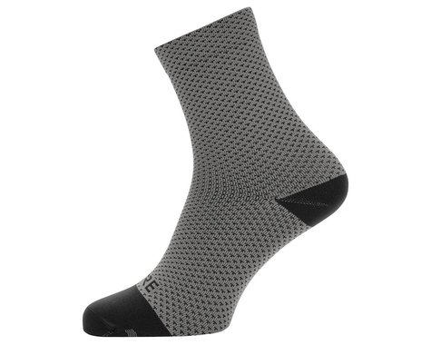 Gore Wear C3 Dot Mid Socks (Graphite Grey/Black) (M)