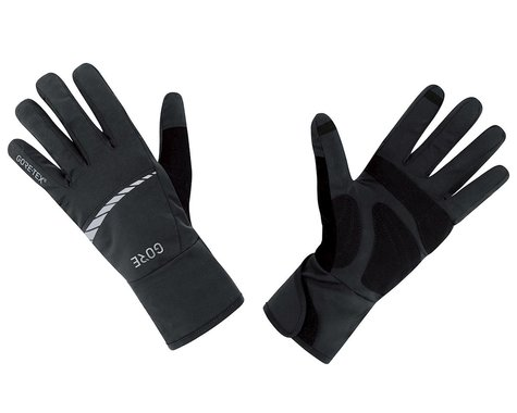 Gore Wear C5 Gore-Tex Long Finger Gloves (Black) (M)