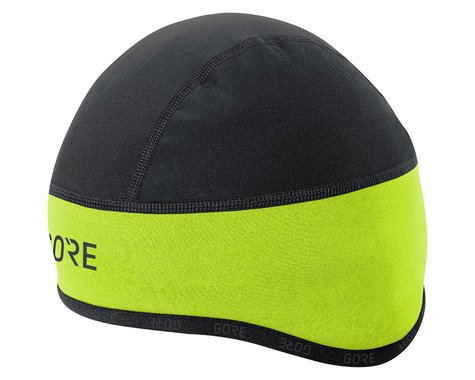 Gore Wear C3 Gore Windstopper Helmet Cap (Yellow/Black) (L)