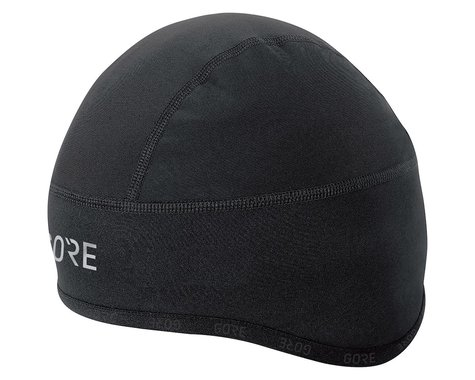 Gore Wear C3 Gore Windstopper Helmet Cap (Black) (L)