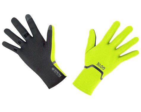 Gore Wear Gore-Tex Infinium Stretch Long Finger Gloves (Neon Yellow/Black) (S)