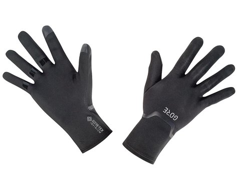Gore Wear Gore-Tex Infinium Stretch Long Finger Gloves (Black) (S)