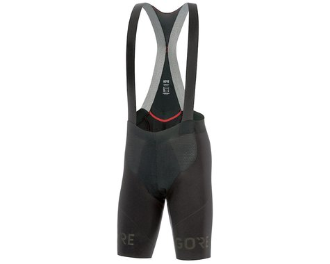 Gore Wear C7 Long Distance Bib Shorts+ (Black) (M)