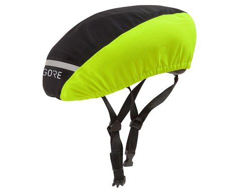 Gore Wear C3 Gore-Tex Helmet Cover (Hi Viz/Black)