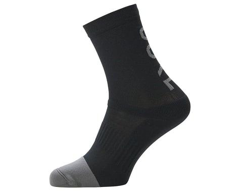Gore Wear M Mid Brand Socks (Black) (L)