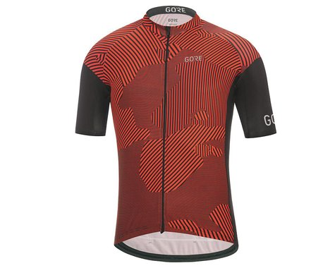 Gore Wear C3 Combat Jersey (Red/Black) (S)