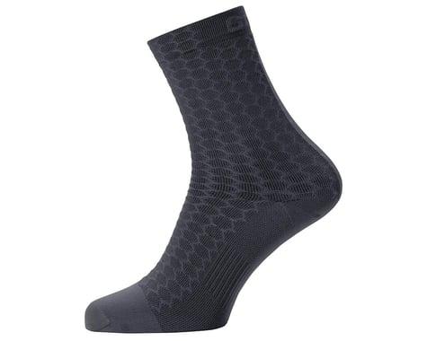Gore Wear C3 Heptagon Mid Socks (Black)