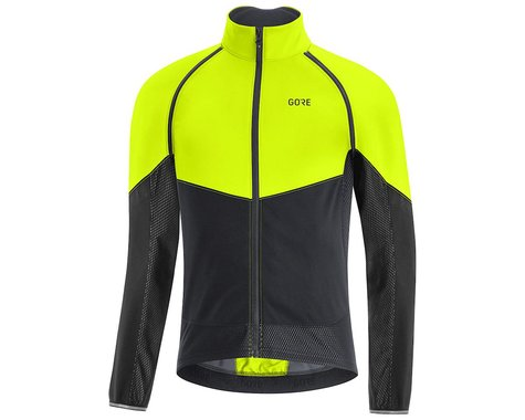 Gore Wear Men's Phantom Jacket (Neon Yellow/Black) (XL)