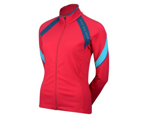 Gore Wear Women's Power 2.0 Thermo Lady Jersey (Blue/Pink)