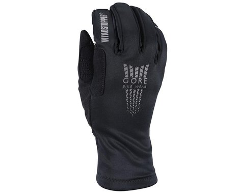 Gore Wear Xenon Windstopper Soft Shell Thermo Gloves (Black)