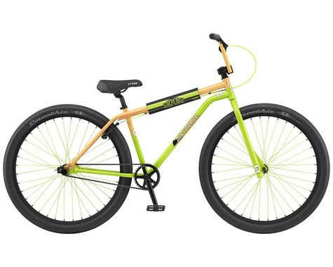 "GT 2021 Performer 29"" BMX Bike (23.5"" Toptube) (Peach/Slime Lime Fade)"