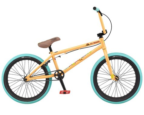 "GT 2021 Performer 20.5 BMX Bike (20.5"" Toptube) (Peach)"