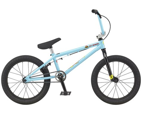 "GT 2021 Jr Performer 18"" BMX Bike (18"" Toptube) (Aqua Blue)"