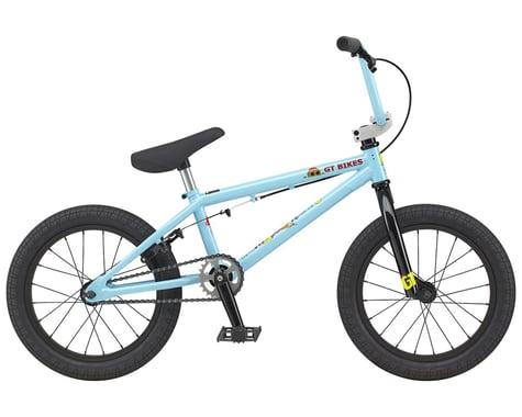 "GT 2021 Lil Performer 16"" BMX Bike (16.5"" Toptube) (Aqua Blue)"