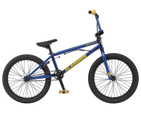 "GT 2021 Slammer BMX Bike (20"" Toptube) (Trans Electric Blue)"
