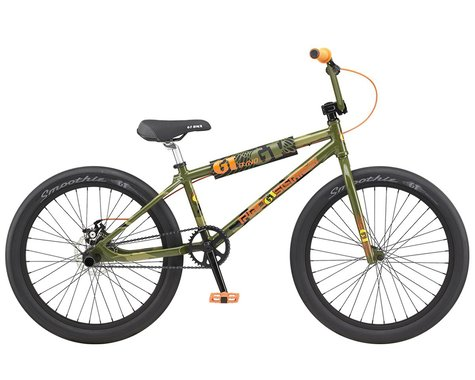 "GT 2021 Pro Series 24"" BMX Bike (21.75"" Toptube) (Green Camo)"