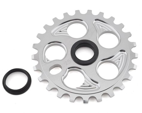 GT Overdrive Sprocket (Shiny Silver) (25T)