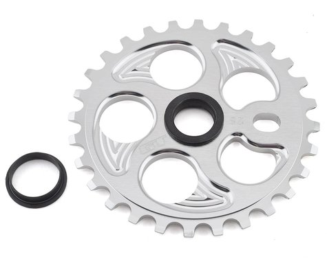 GT Overdrive Sprocket (Shiny Silver) (28T)