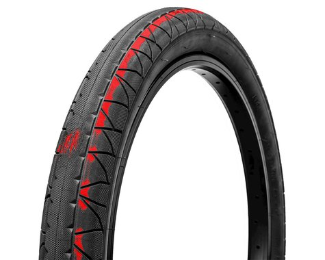 GT Pool Tire (Black/Red)