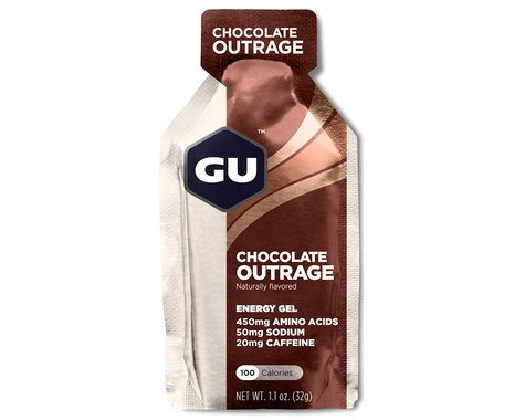 GU Energy Gel (Chocolate Outrage) (8 1.1oz Packets)