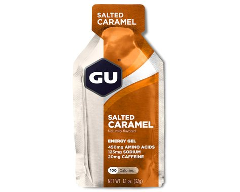 GU Energy Gel (Salted Caramel) (8 1.1oz Packets)