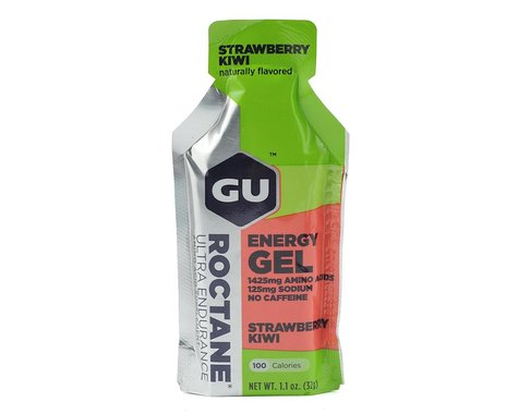 GU Roctane Gel (Strawberry Kiwi) (24 1.1oz Packets)