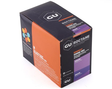 GU Roctane Energy Drink Mix (Grape) (10 2.3oz Packets)