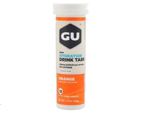 GU Hydration Drink Tablets (Orange) (8 Tubes)