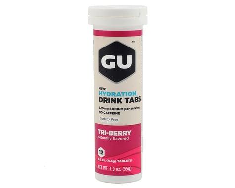GU Hydration Drink Tablets (Tri Berry) (8 Tubes)