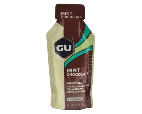 GU Energy Gel (Mint Chocolate) (24 1.1oz Packets)