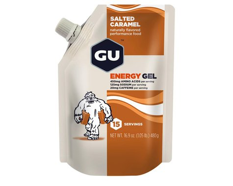 GU Energy Gel (Salted Caramel) (1 16.9oz Packet)