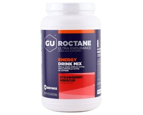 GU Roctane Energy Drink Mix (Strawberry Hibiscus) (24 Servings) (55oz)