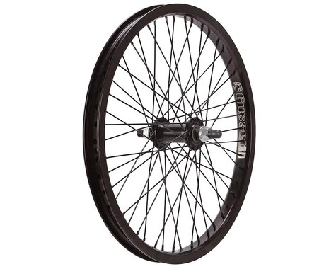 "Gusset Black Dog Front Wheel (3/8"") (48H) (20"")"