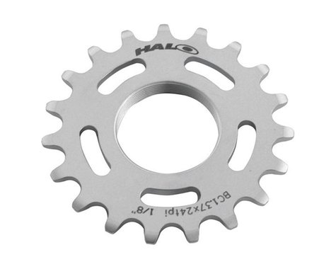 Halo Wheels Fixed Cog (Silver) (17T)