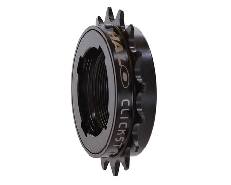 "Halo Wheels Clickster 3/32"" Freewheel (Black) (16T)"