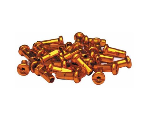 Halo Wheels 14 Gauge Nipples (Gold) (12mm) (Bag of 50)