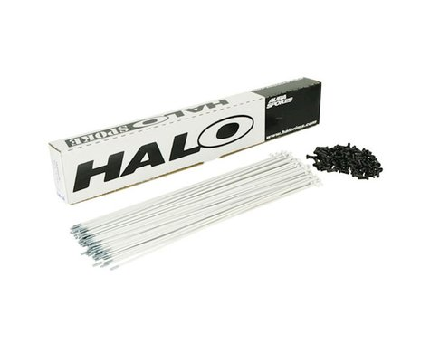 Halo Wheels Aura 14g (white) Spoke