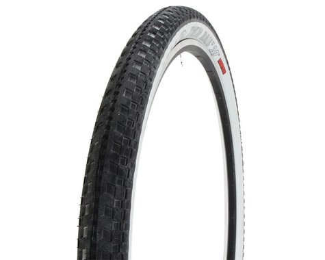 "Halo Wheels Twin Rail II Tire (Non-Folding) (Black/White) (29"") (2.2"")"