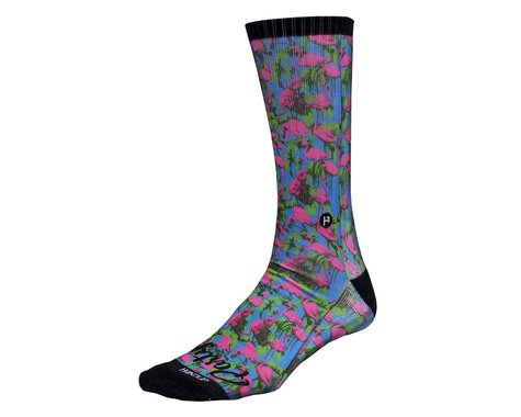 Handup Party Time Foot Down Socks (The Flamingo)
